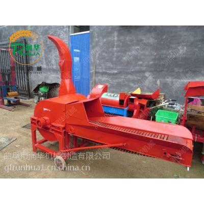 青干秸秆铡草机 润华 苜蓿草揉丝机 牛场专用铡草粉碎机
