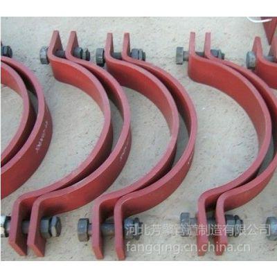 供应钢制双孔管夹厂家价格
