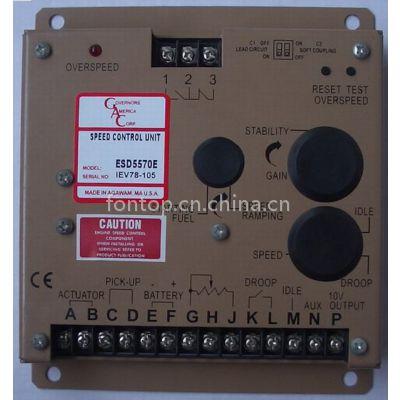 GAC ESD5570E调速板,ESD5570E发电机电调板