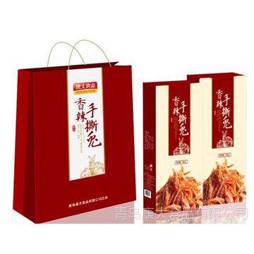 康大食品香辣手撕兔礼盒山东特产食品礼盒健康兔肉烤兔800g
