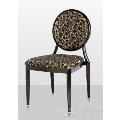 供应厂家直销中式铁制软包餐厅餐椅 XE-025