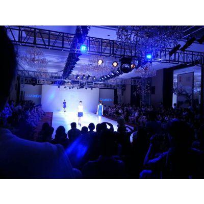 供应杭州服装新品上市发布会灯光音响舞台搭建投影LEDP4屏租赁