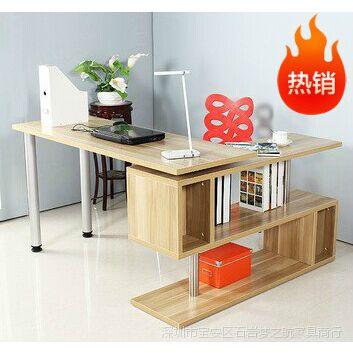 厂家批发 时尚简约 转角电脑桌 台式办公桌 360度旋转 板式书桌