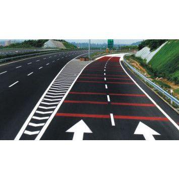 重庆道路热熔标线涂料 重庆厂区道路划线 重庆小区车库划线