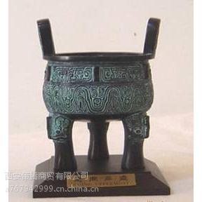 西安青铜大鼎销售 供应西安青铜开业礼品 可印字送货