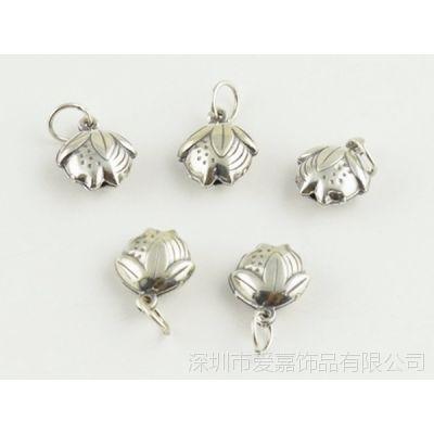 DIY999纯银佛珠配件加工生产批发 珠宝首饰来图来样加工定制工厂