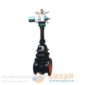 中国优质阀门卡特斯Z941T/Z945T-10电动铸铁楔式法兰闸阀