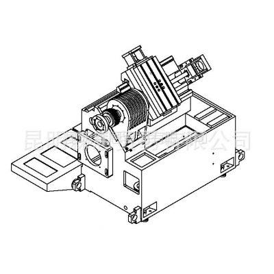 供应台正斜床身卧式数控车床光机TOM-TCK45H30D加工长度为250