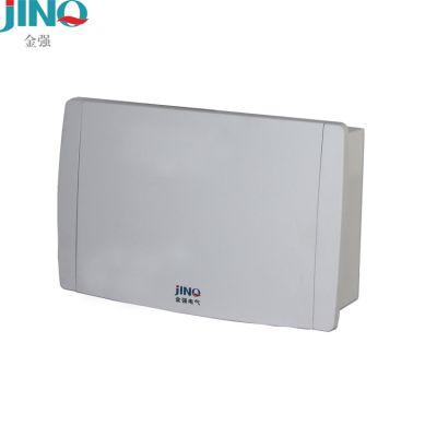厂家直销金强家用照明配电箱家用强电箱空气开关漏保集线箱低压电器空开箱JQP6-8回路