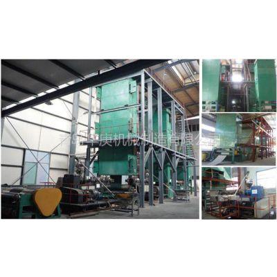 供应PVC/PVG热塑弹性体整芯阻燃带生产线挤出机精炼机青岛华庚胶片冷却线