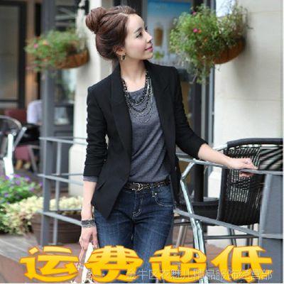 批发春夏新款女士西服韩版修身女装大码外套女式职业小西装新品潮