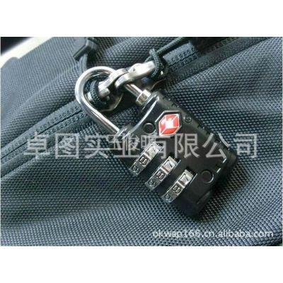 供应TSA301  海关锁 锌合金 彩色 密码锁 箱包锁