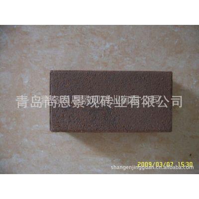 供应淄博陶土烧结透水砖