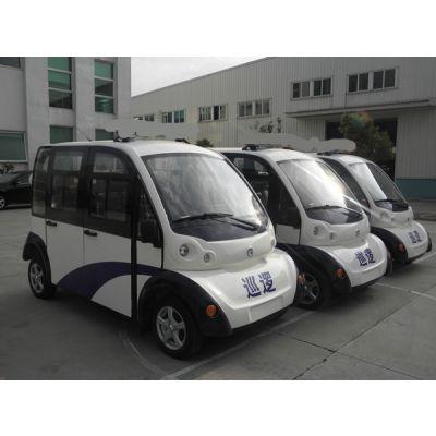 四座巡逻电动车,四轮电动巡逻车,带门电动巡逻车