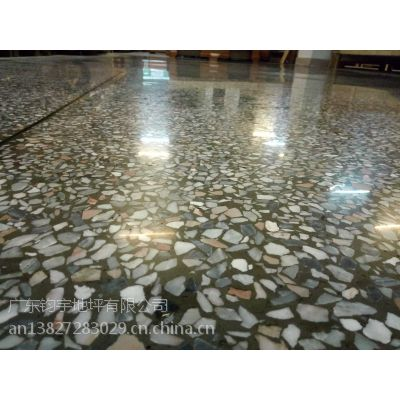 博罗县柏塘镇水磨石地面抛光---厂房水磨石地面硬化--地面透着光