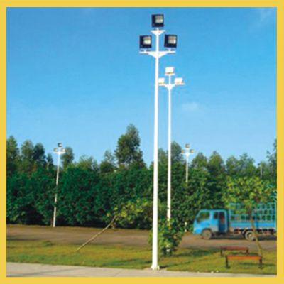 长沙市8米球场灯杆设计安装 岳麓小区篮球场灯杆高度可定做
