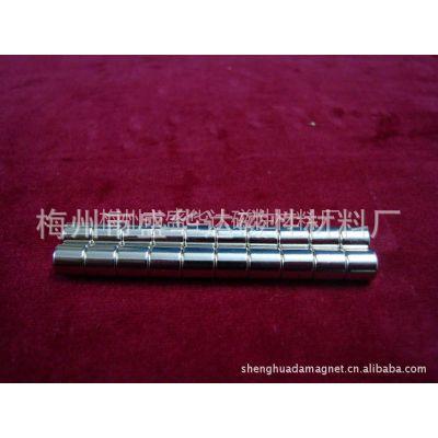 供应钕铁硼N48镀镍D6*6磁铁