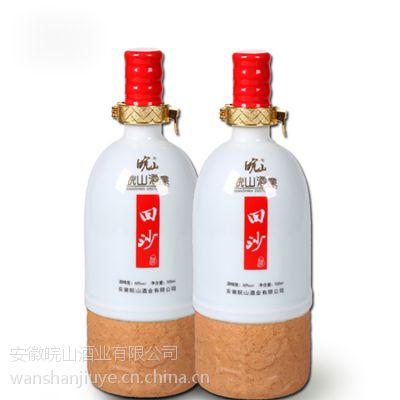 皖山 国产白酒特价包邮礼盒回沙酒头42度500ml*6浓香型白酒