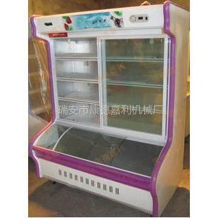 供应双排商用全铜管点菜柜 展示柜 冷柜 冷藏柜