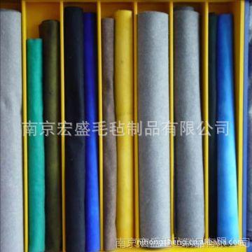 针刺化纤毡厂家及用途,各种颜色均可定做可来样定做
