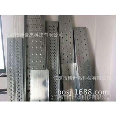 供应厂家定做钢制踏板/船用钢跳板设备/建筑用脚手板成型机
