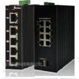 信泓工业级管理型千兆以太网交换机1光1电光电转换器