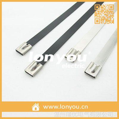 自锁式喷塑不锈钢扎带-12.0MM系列
