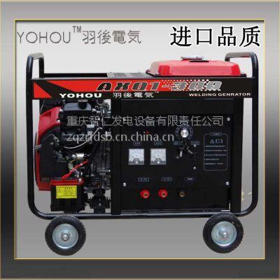 AXQ1-300汽油内燃直流弧焊发电机/发电电焊两用机