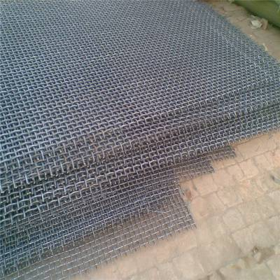 旺来黑钢轧花网 轧花网矿筛 席型网片