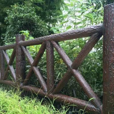 供应仿木护栏,河道栏杆,桥梁护栏,仿木桩,水利工程