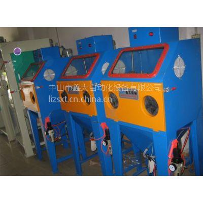 供应厂家直供手动干式喷砂机|木材喷砂机|五金工件喷砂机