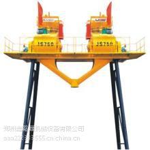 郑州鑫璐通供应JS750连体混凝土搅拌站参数图片、厂家电话