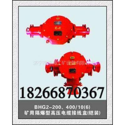 供应BHG,BHD矿用隔爆型高压低压电缆接线盒