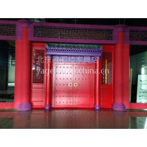仿古门窗寺庙宫殿专业制作仿古大门四合院大门各种古建筑
