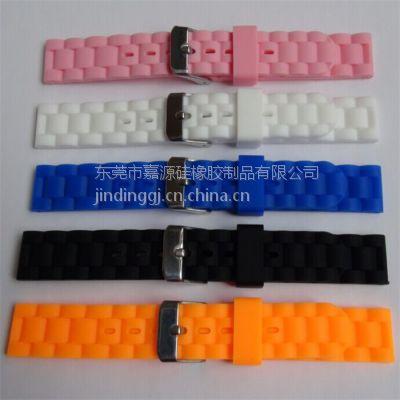 硅胶手表配件定制 硅胶儿童啪啪手表带 电子切耳手表带