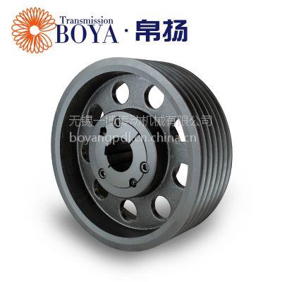单缸机皮带轮spz190-06选无锡帛扬锥套皮带轮生产商