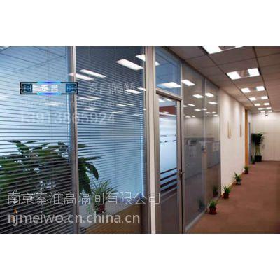 南京银科牌双玻百叶玻璃隔断 (TC-84-22X)