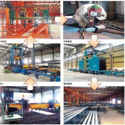 供应包头热镀锌钢格板厂--钢格板生产流程示意图