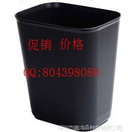 供应酒店用品 客房用品 塑料垃圾桶 黑色 长方形 收纳垃圾桶