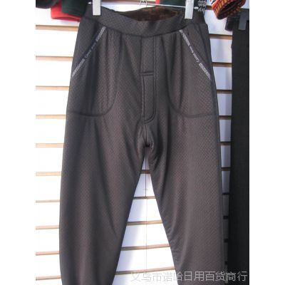 男士保暖裤 三层加厚加绒护腰加大加肥 专销东北抗冻抗寒精品高档