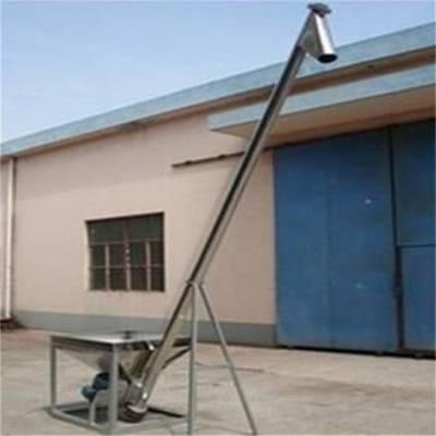 汇众耐腐蚀粉剂提升机 不锈钢面粉蛟龙上料机 食品厂用送料机