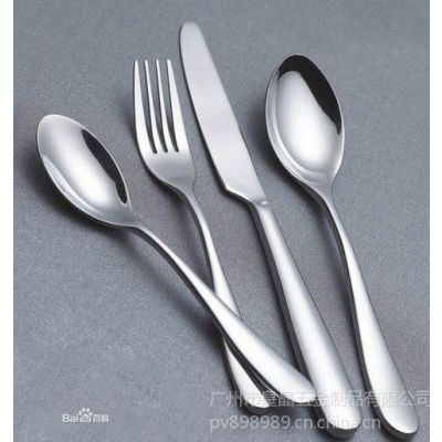 供应生产高档镜面抛光欧式华丽不锈钢勺子 咖啡勺 餐具勺子