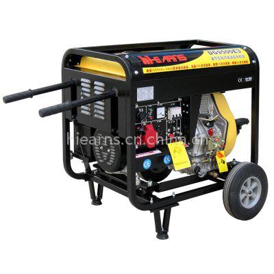 供应5.5KW电启动芭比款柴油发电机组