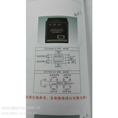 宁波衢州台州温湿度控制器DYC195AC-D1价格直销