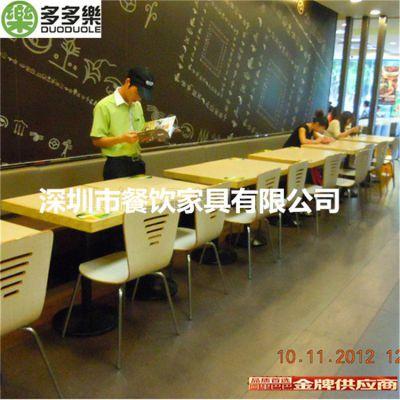 供应热卖餐厅时尚大理石餐桌 长方形人造石餐台 促销产品