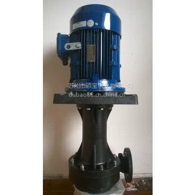 供应连续电镀设备专用立式泵,液下泵,连续镀立式泵,硕宝泵浦特价销售