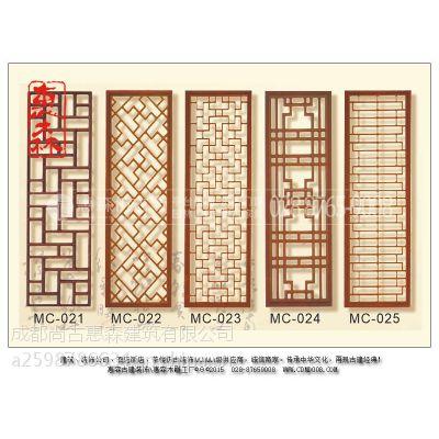 仿古门窗定制 景观仿古门窗 雕花仿古门窗