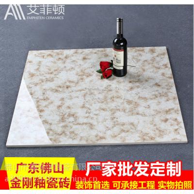 佛山陶瓷厂家 批发定制客厅地板爆米花金刚釉瓷砖 800*800艾菲顿瓷砖