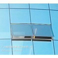 外墙玻璃打胶 玻璃外墙注胶 江门专业幕墙玻璃开窗扇