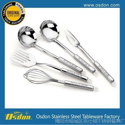 创意家居用品 厨房小工具 不锈钢厨具 烹饪勺铲套件